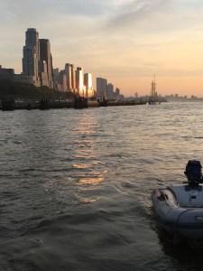 Manhattan from W. 79th St. Boat Basin