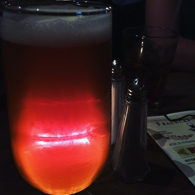 A beer with the ghost of George Washington