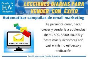 Cómo automatizar tus campañas de email marketing