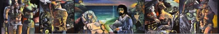 boccia, italian-american-artists neo-expressionist, painting, contemporary-art, twentieth century-art