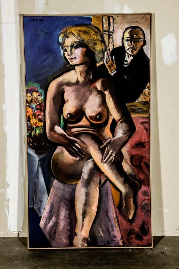 Beckmann, Max-Beckmann, Morton-May, Edward-Boccia, American-Art, American-Painting, Painting, American-Painters, Modern-Art, Contemporary Art, Ed-Boccia, St-Louis-Artist, WUSTL