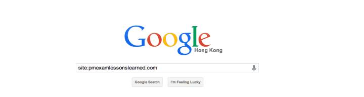 determine whether website is still in Google index