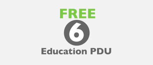 FREE 6 PDU for PMP/PMI-ACP