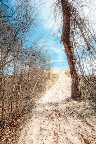Path to Beach House Blowout Peak