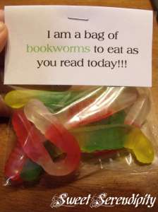 A bag of bookworms