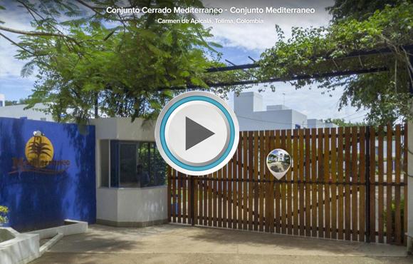TOUR VIRTUAL 360° Conjunto Cerrado Mediterráneo, Carmen de Apicalá