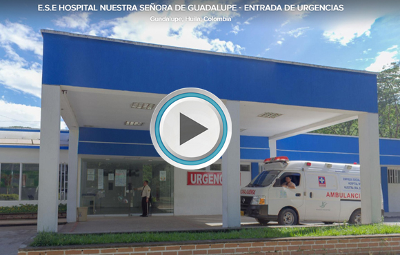TOUR VIRTUAL 360°  ESE Hospital Nuestra Señora de Guadalupe