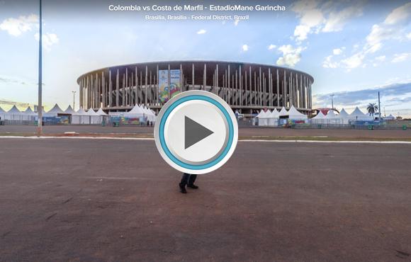 TOUR VIRTUAL 360° Estadio Nacional Mané Garrincha, Brasilia, Brasil