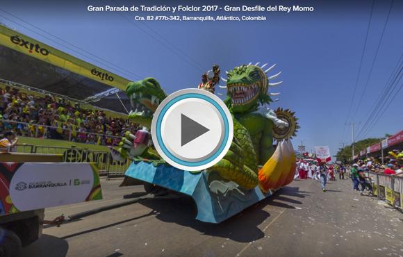 TOUR VIRTUAL 360° Gran Parada de Tradición y Folclor 2017
