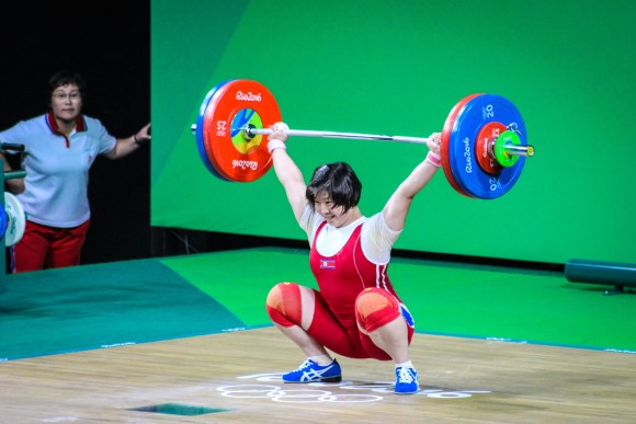 Rim Jong Sim, Oro Olímpico, Halterofilia