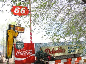 Delgadillo's Snow Cap Restaurant, Route 66, Seligman, AZ