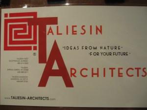 Taliesen Architects at Taliesen West