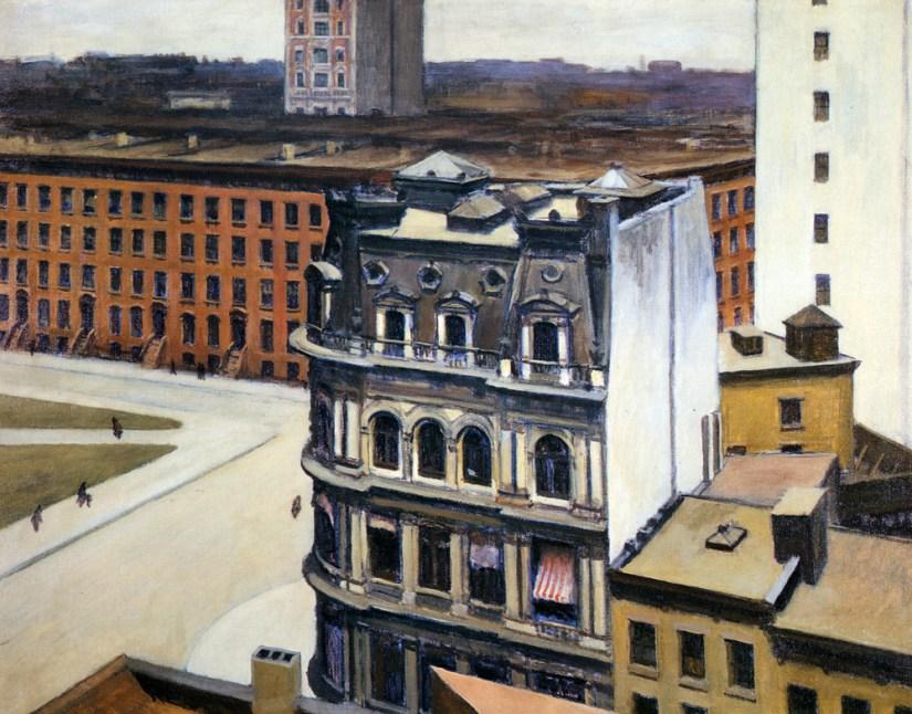 Tucson's Edward Hopper painting, 'The City' (1927)