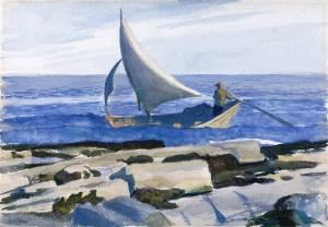 The Dory (1929), Edward Hopper, Nelson-Atkins Museum, Kansas City