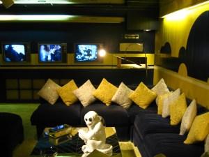 Elvis Presley's TV Room, Graceland, Memphis, Tennessee