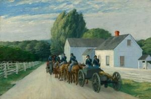 Light Battery at Gettysburg (1940) Edward Hopper Nelson-Atkins Museum, Kansas City
