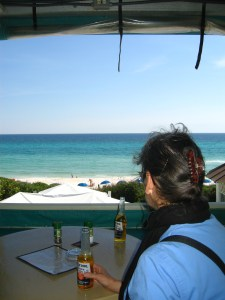 Beach Bar, Seaside, Gulf Coast, Florida