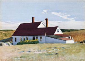 Jenness House Looking North (1934) Edward Hopper Ringling Museum of Art Sarasota Florida