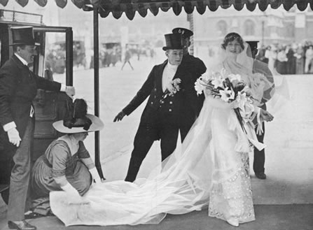 1913 marriage Freda Dudley Ward