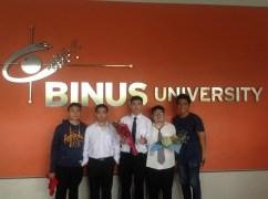 My friends #3 (Franco, Sudiarto, Me, Evin, Rizal)