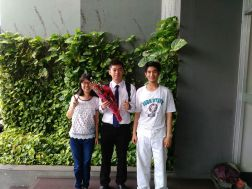 Teman gokil ( Mery, Me, Andi )