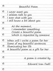 Beautiful Poem