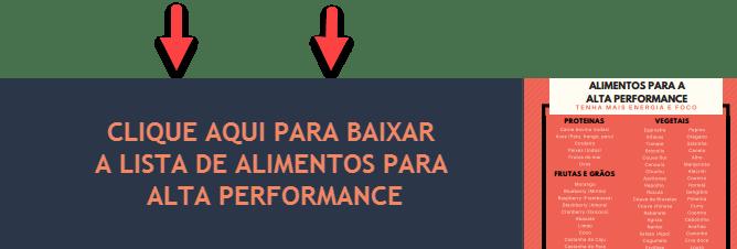 Alimentos para alta performance