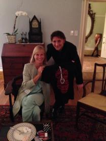 Ed with Film & TV Producer Martha De Laurentiis