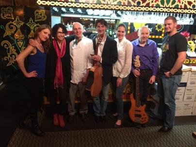 The Band with Restaurateur Ino Gonzalez