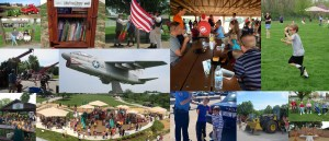 Collage of images from Edwardsville Township Park