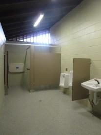 Restroom #1 following renovation.