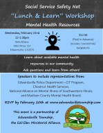 Lunch and Learn Mental Health Resources