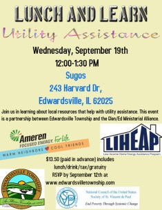 September Lunch & Learn flyer