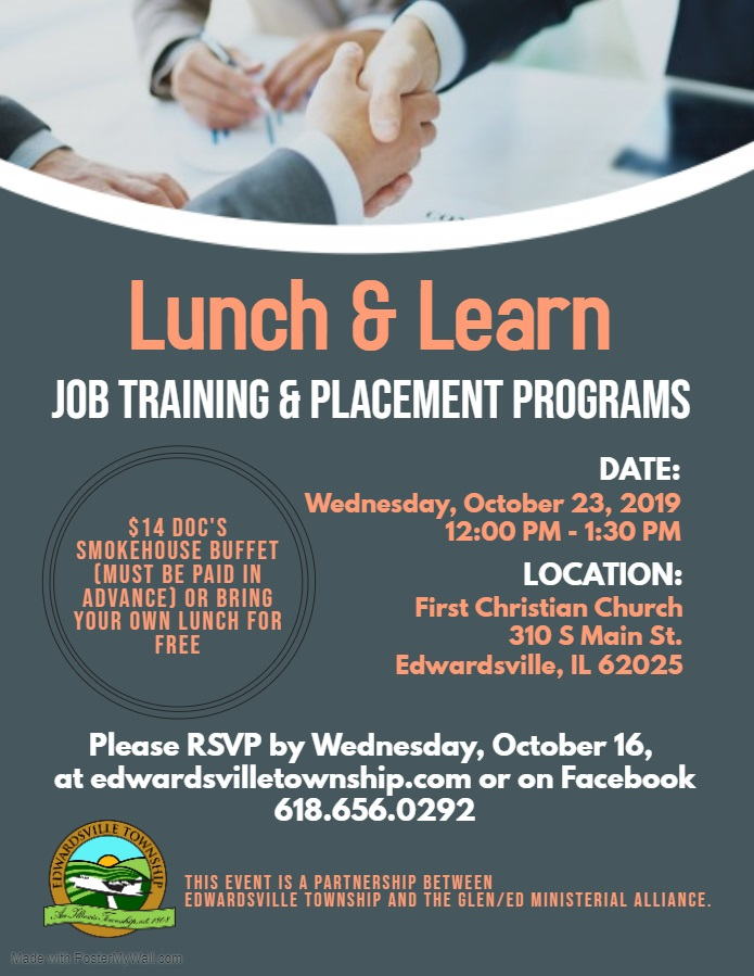 NEW October 2019 Flyer - Job Training
