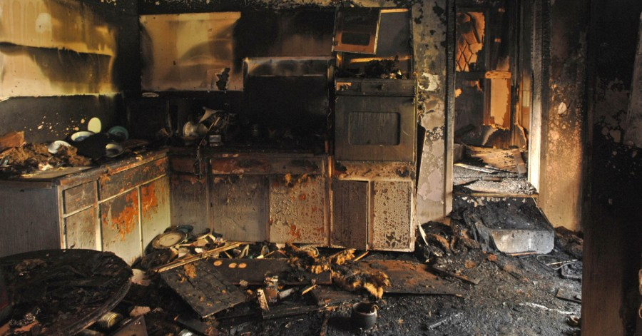 unattended-candles-blamed-for-house-fire