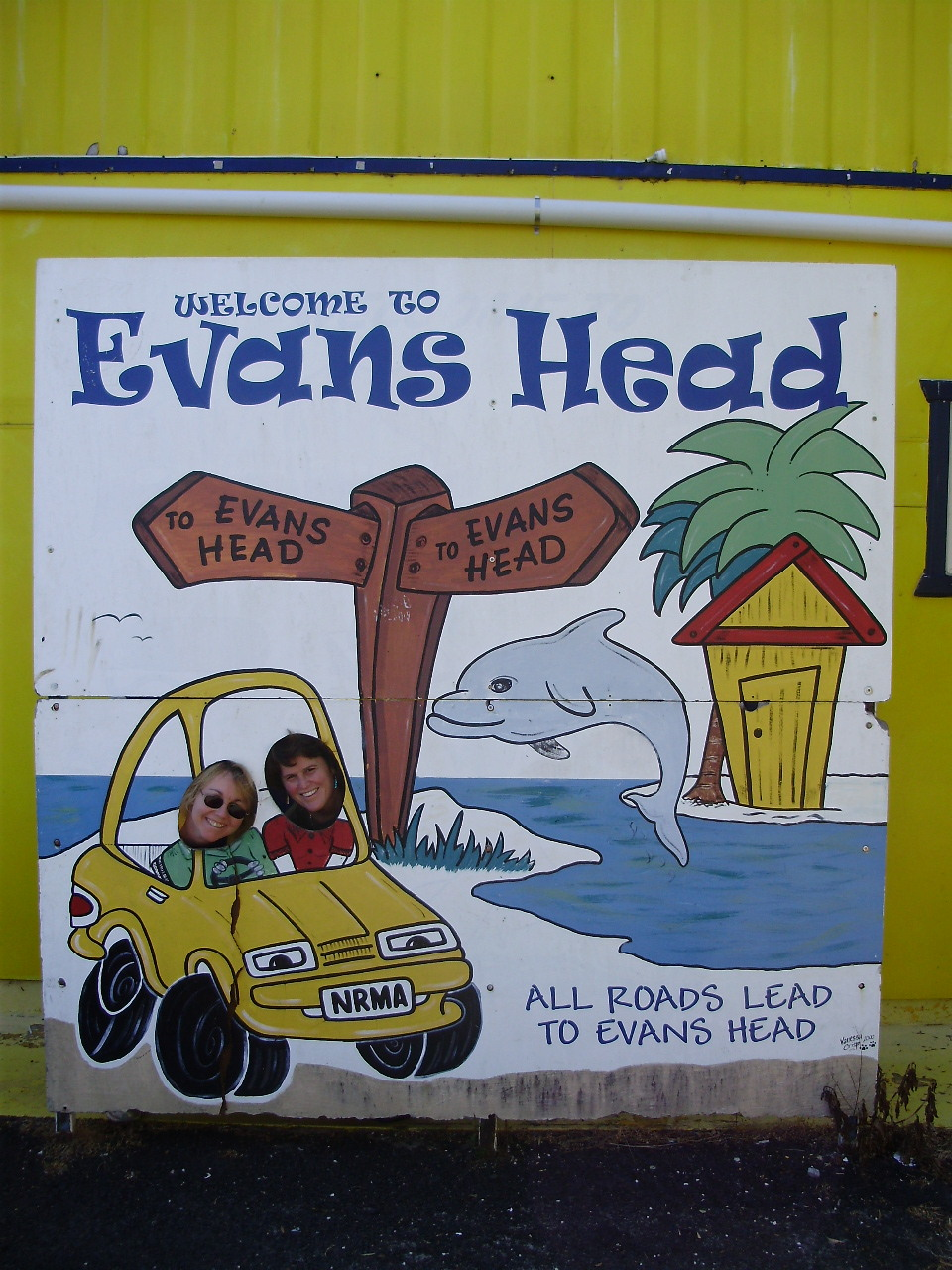 all roads lead to evans head