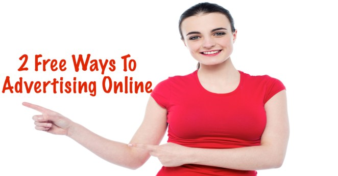 Two free ways to advertise online