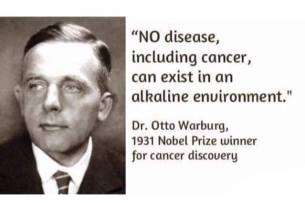 No disease Dr Otto Warburg