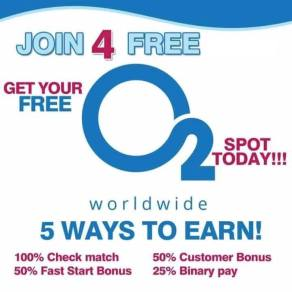 O2 Worldwide join 4 free