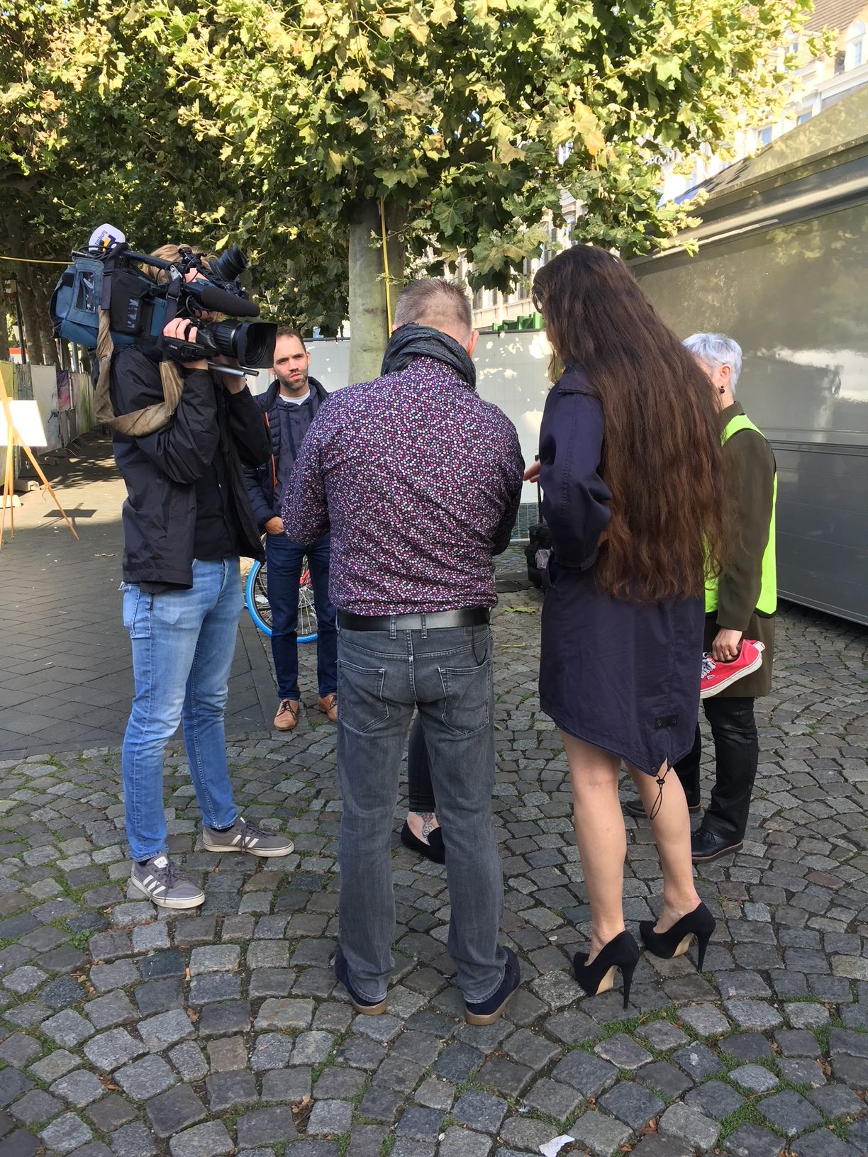 Sensual in the City Maastricht TV interview at the Helpoort