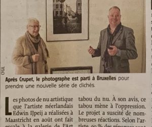 Sensual in the City Brussels Announcement in Newspaper L'Avenir