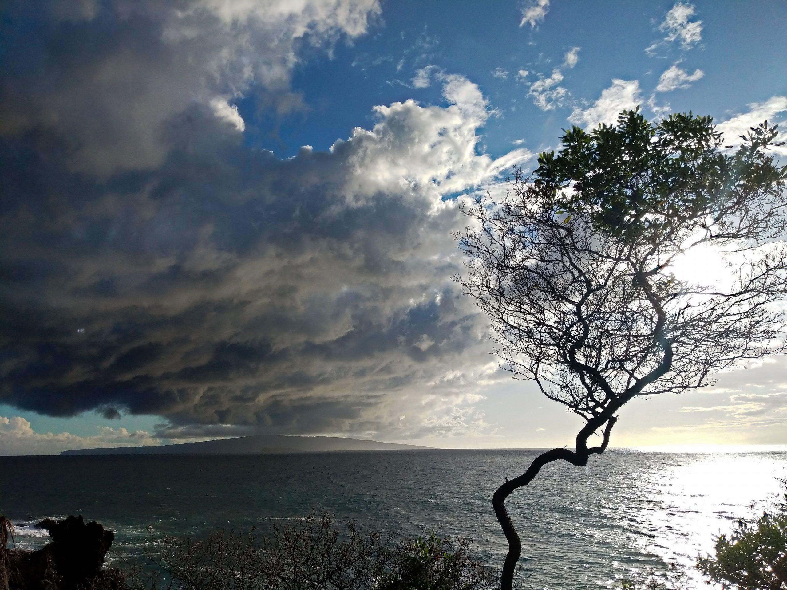Incoming Storm at Wailea Beach