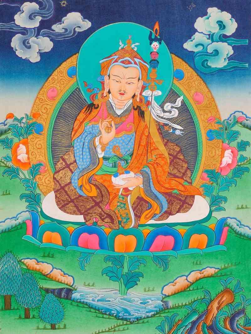 """De """"Vajra Guru"""" mantra van Padmasambhava - om ah hum vajra guru padma siddhi hum - Edwin van der Hoeven"""