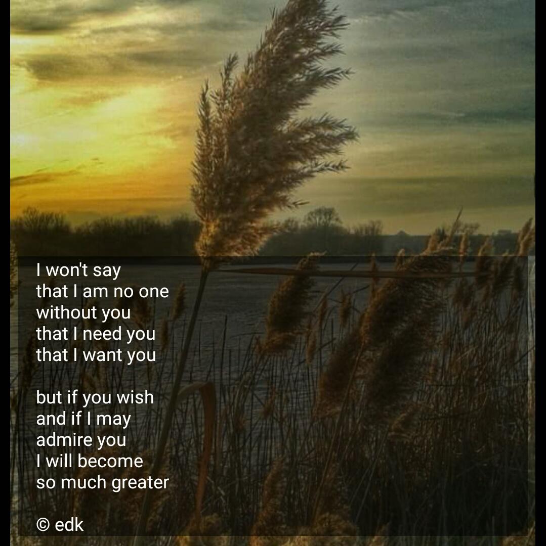 If I may –