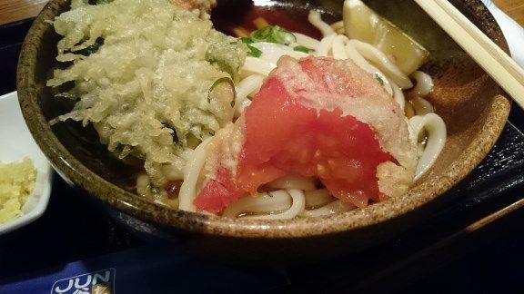 JUN大谷製麺処 トマト天ぷら