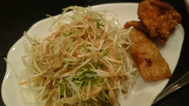 上海時間サラダ