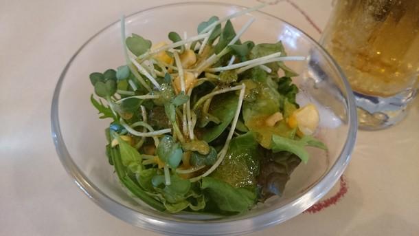 武蔵野食堂サラダ