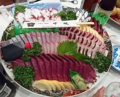 高知県四万十町志和の中延の皿鉢料理