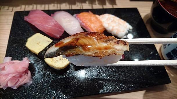 ランチの寿司