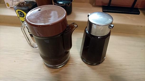 ソースは2種類